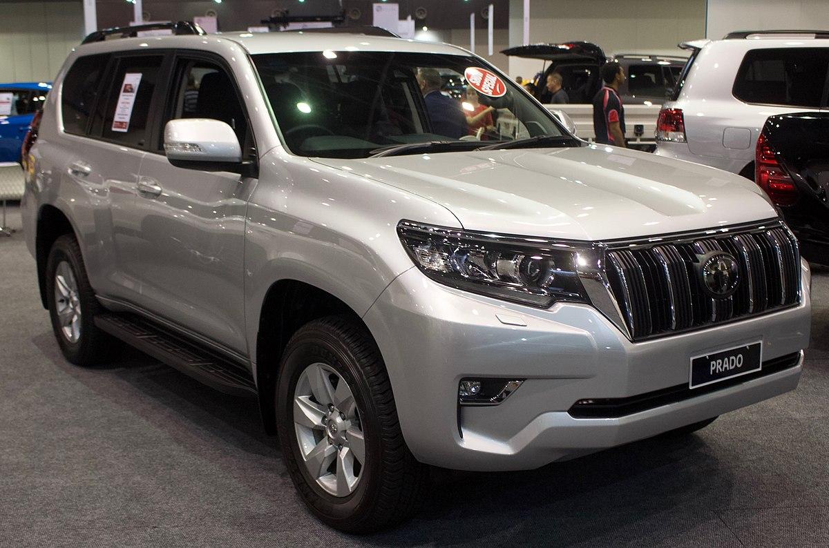 Land Cruiser 2019 Spy >> Toyota Land Cruiser Prado - Wikipedia