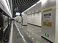 201908 Loop Line Outer Ring Platform of Min'an Avenue Station.jpg