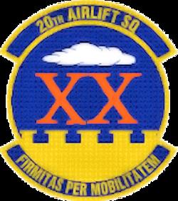 20th Airlift Squadron - AMC - Emblem.png