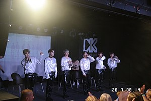 24K (band) - 24K in Budapest, Hungary in August 2017