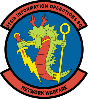 315th Cyberspace Operations Squadron - Image: 315th Information Operations Squadron