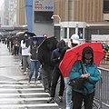 31st St voters rain jeh.jpg
