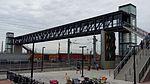 38th & Blake ped. bridge over tracks, south view, 16-04-23.jpg