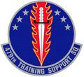 479 Training Support Sq emblem.png