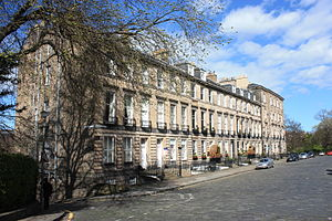 David Paton (architect) - 4 to 14 Gloucester Place, Edinburgh by David Paton