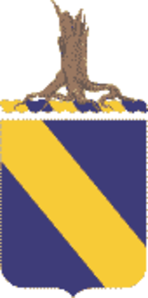 51st Infantry Regiment (United States) - Coat of arms
