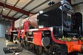 5551 The Unknown Warrior inside Crewe HC shed.jpg