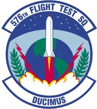 576th Flight Test Squadron - Image: 576th Flight Test Squadron
