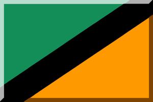 1914–15 Italian Football Championship - Image: 600px Verde Nero e Arancione (Diagonale)