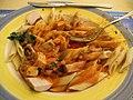 6050 - Meiringen - Rest. Da Ernesto - MostroLuzern - Pasta with chicken.JPG