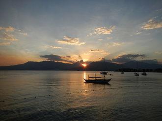 Subic, Zambales - Subic Bay sunset