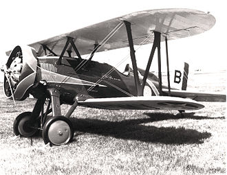 6th Weapons Squadron - Boeing P-12E of the 6th Pursuit Squadron, Wheeler Field, 1935
