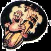 702d Bombardment Squadron - Emblem