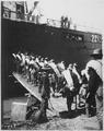 71st New York Volunteers boarding transport. U.S.A.T. Vigilancia. Scribners Collection., ca. 1898 - NARA - 530995.tif
