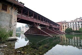Bassano del Grappa - Image: 7509 bassano del grappa ponte ponte degli alpini