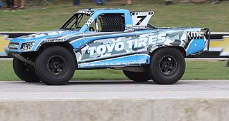 Robby Gordon - 2018 Speed Energy Formula Off-Road truck at Road America