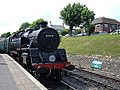 80078 arriving at Swanage station - geograph.org.uk - 865127.jpg