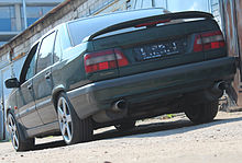 Volvo 850 wikipedia volvo 850r awd 1997 model year color dark olive pearl green in saint petersburg russia on this car was custom installed all wheel drive system from sciox Gallery
