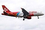 9H-AEL A319 Air Malta (14685530816).jpg