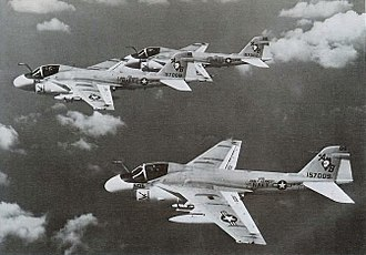 VFA-34 - VA-34 A-6As in 1971.