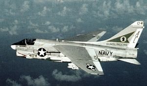 VFA-105 - VA-105 A-7E Corsair II in 1982