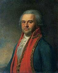 A. N. Astafiev's portrait