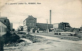 Peabody, Massachusetts - A.C. Lawrence Leather Company, c. 1910