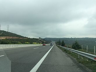 Highways in Greece - Motorway A1, Greece