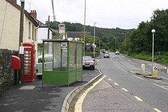 Knowle, Devon - A361 through Knowle