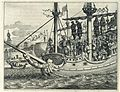 AMH-6958-KB The king of Aden hung from the mast of Soliman Bassus' galleon.jpg