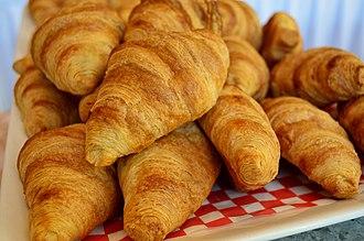 Croissant - Baked croissants