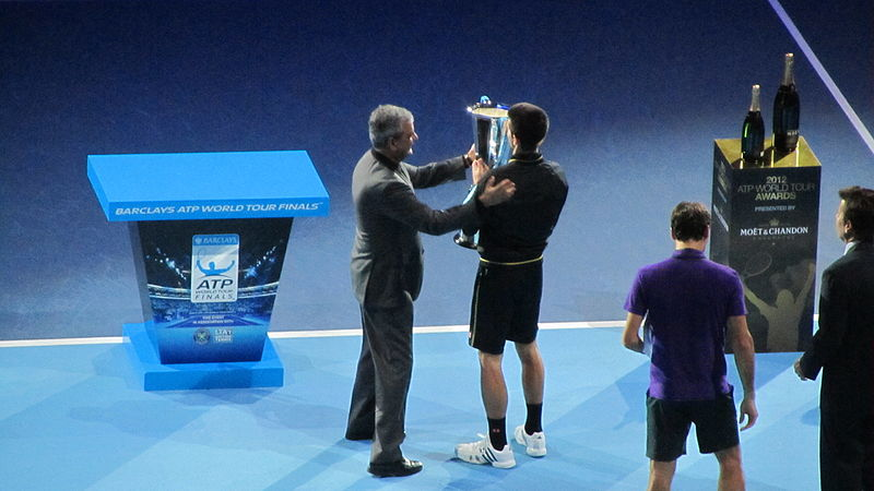 File:ATP World Tour Finals at The O2 singles ceremony (8324850957).jpg