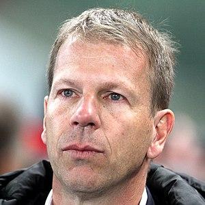 Liechtenstein national football team - Rene Pauritsch, the team manager since 2013.