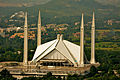 A Beautiful View of Faisal Masjid - Islamabad.JPG