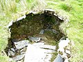 A Collapsed Underground Shelter at Cae'r Gors Slate Mine - geograph.org.uk - 231802.jpg