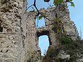 A Vitányvár belső tornyának maradványai.jpg