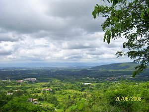 Dehradun - A cloudy view of Dehradun