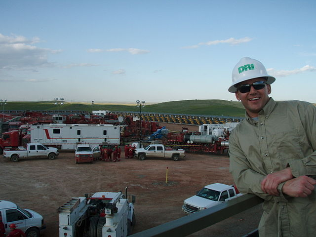 oil and gas industry fracking