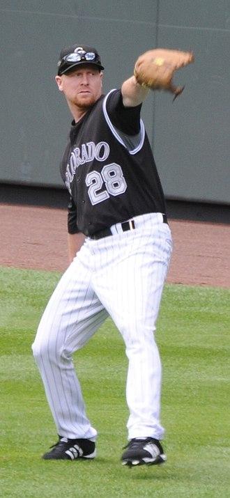 Aaron Cook (baseball) - Image: Aaron Cook