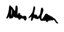 AbdusSalamBlackpenAutograph