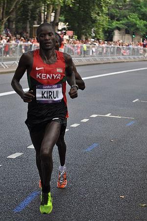 Kenya at the 2012 Summer Olympics - Abel Kirui won the silver medal in men's marathon.