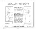 Abram's Delight, Rouss Spring Avenue, Winchester, Winchester, VA HABS VA,35-WIN,14- (sheet 1 of 7).png