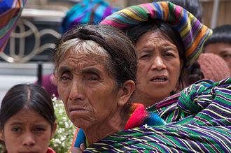 Nahualá - Quiche Mayan Women to Nahualá market