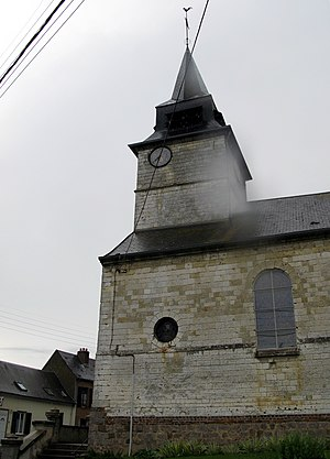 Acheux-en-Amiénois -  The church at Acheux