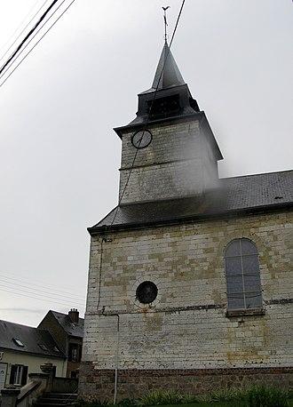Acheux-en-Amiénois - The church at Acheux