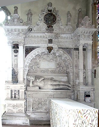 John Acland (died 1620) - Acland's monument, Broadclyst Church