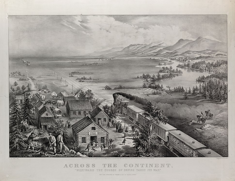Across the Continent - Currier & Ives 1868