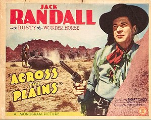 Across the Plains (1939 film) - Theatrical release poster