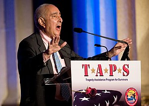 Ben Stein - Stein speaking at a gala in honor of the TAPS in Washington, D.C., 2008