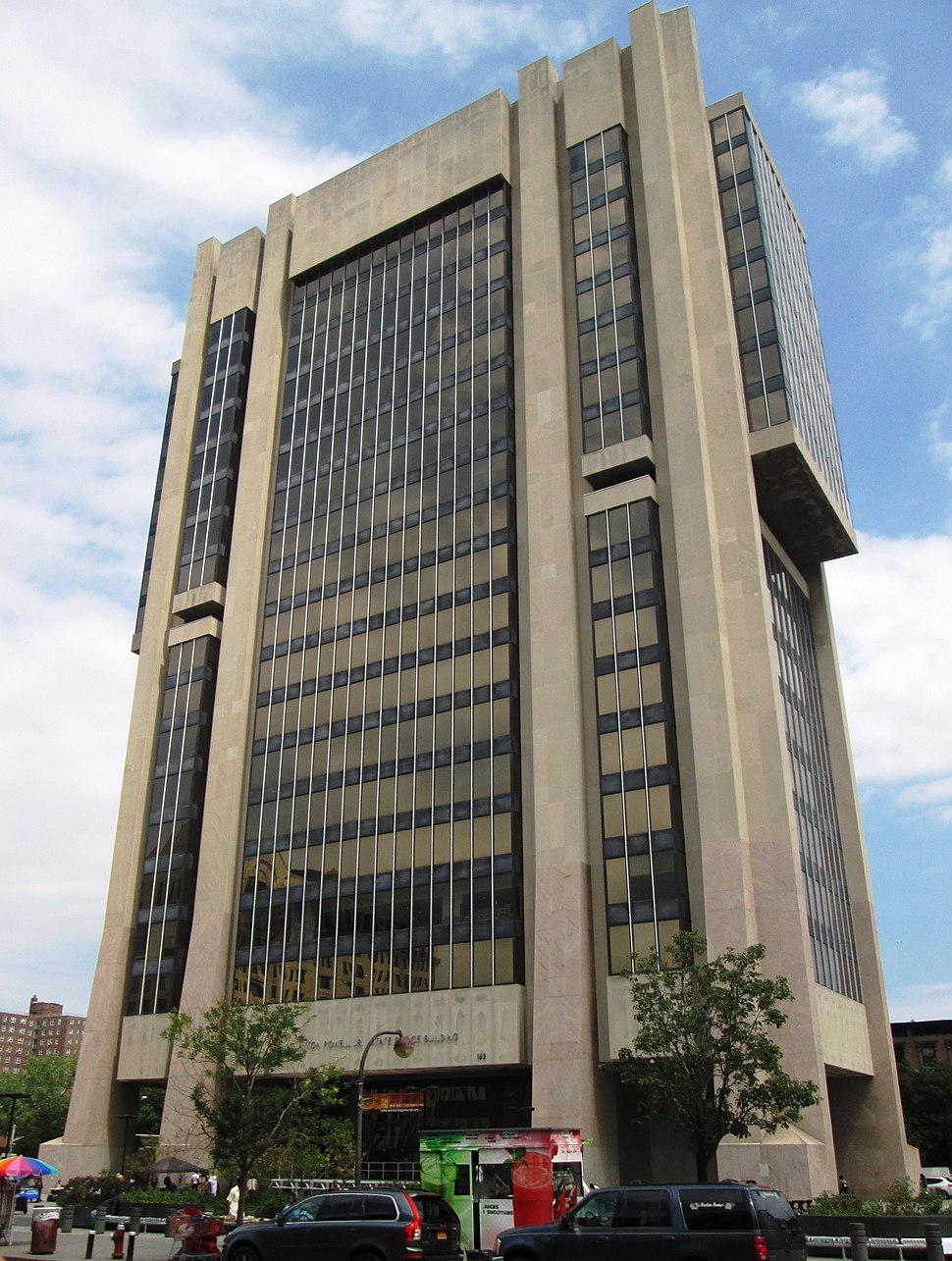 Adam Clayton Powell Jr. State Office Building from east